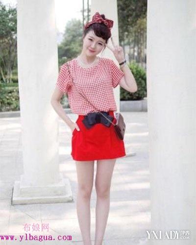 红色裙子搭配