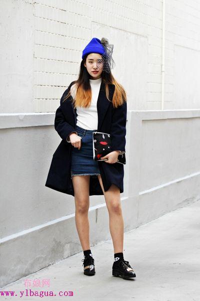 时髦韩国妹子穿甚么过冬?快点学起来