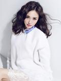 唐嫣大片迪拜沙漠演绎女神范儿_挑战唐嫣短发发型