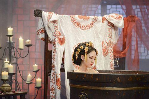 陈乔恩古装造型 唯美西域公主惊艳亮相【组图】